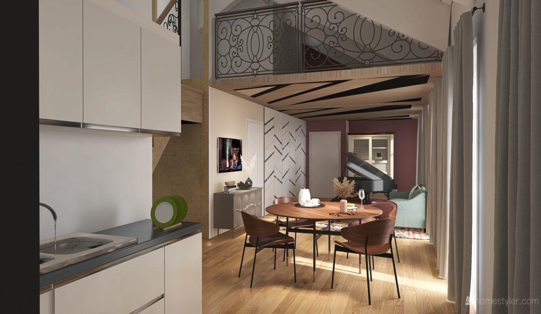 Appartamento- trilocale-soppalcato-con doppi servizi-a Venegono Superiore-in classe A (3)