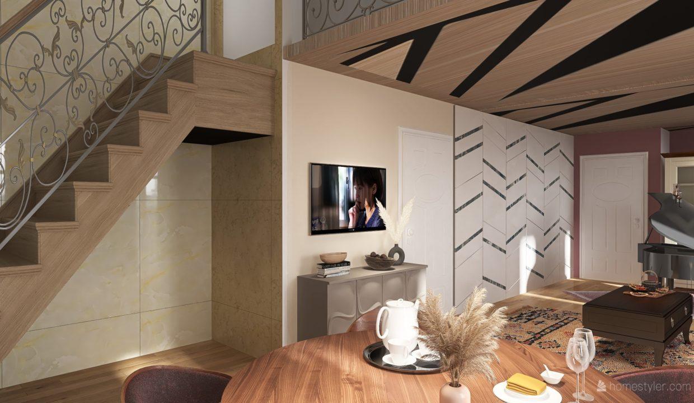 Appartamento- trilocale-soppalcato-con doppi servizi-a Venegono Superiore-in classe A (4)